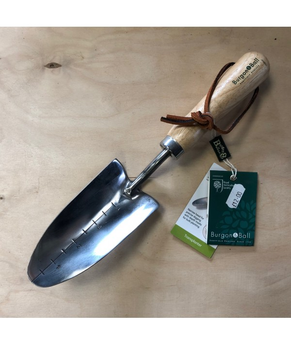 Burgon & Ball Stainless Hand Transplanter