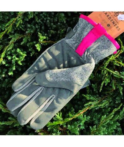 Love the Glove Grey Tweed Ladies Gardening Glove M/L