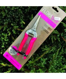FLORAbrite Fluorescent Pink Flower & Fruit Snips - RHS Endorsed