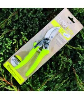 FLORAbrite Fluorescent Yellow Bypass Secateurs - RHS Endorsed