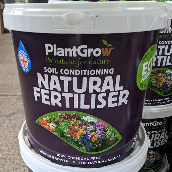 Exciting new 100% natural fertiliser range